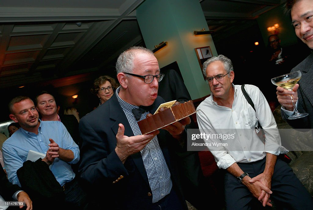 Focus Features CEO James Schamus attends the Grey Goose Vodka and Forevermark Diamonds party for 'Anna Karenina' at Soho House Toronto on September 7, 2012 in Toronto, Canada.