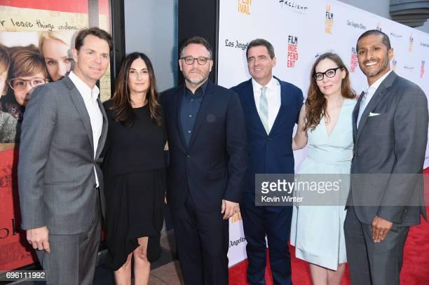 Focus Features President of Marketing Jason Cassidy Sidney Kimmel Entertainment President of Production Carla Hacken director Colin Trevorrow Film...
