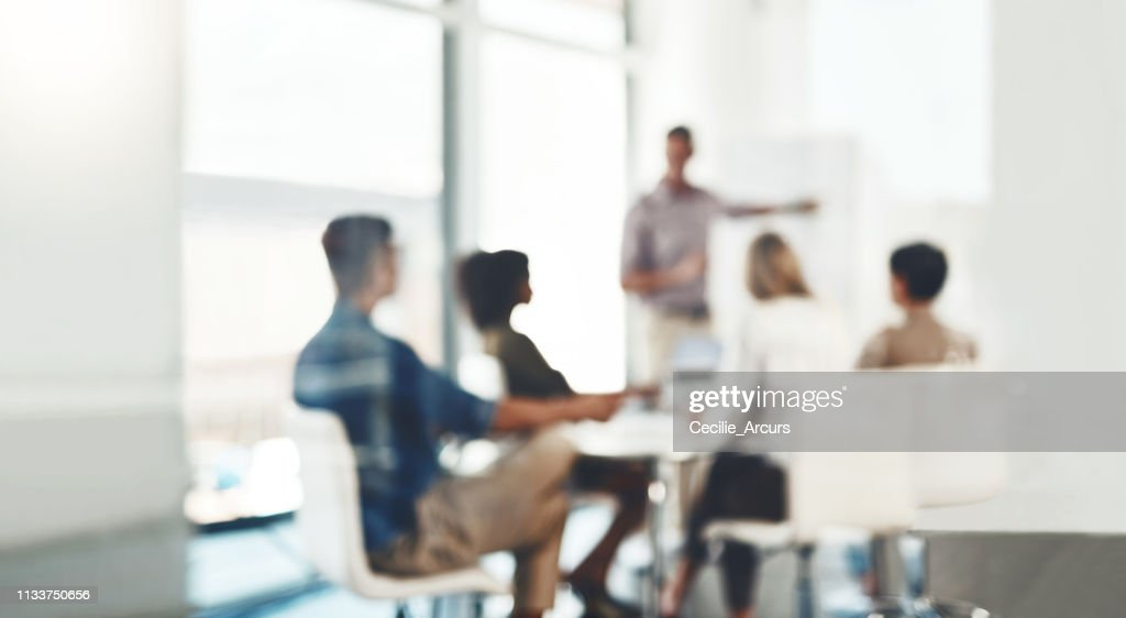 Focus on making a success of the day : Stock Photo