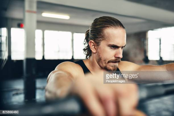 focus on the weights you lift, not weight you lose - peopleimages stock pictures, royalty-free photos & images