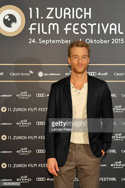 'Focus Switzerland Austria Germany' Jury member Alexander Fehling attends the Jury Photocall during the Zurich Film Festival on October 1 2015 in...