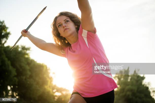 Focus - throwing javelin