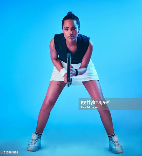 focused and ready - tennis player stock pictures, royalty-free photos & images
