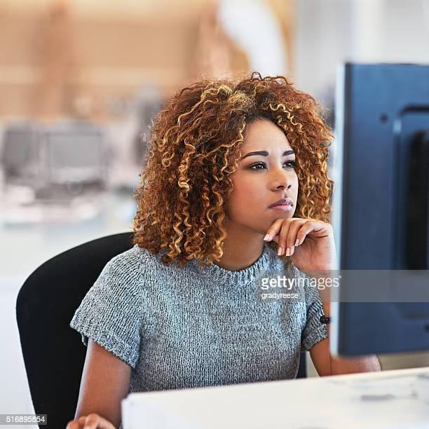 Focused on the deadline