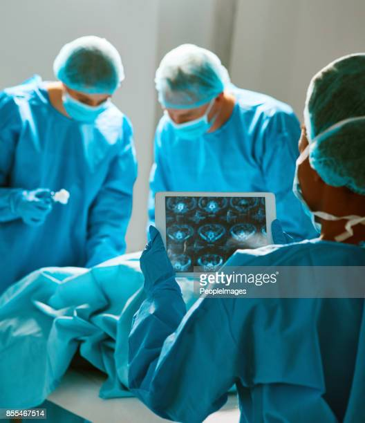 Konzentrierte sich auf den chirurgischen Eingriff