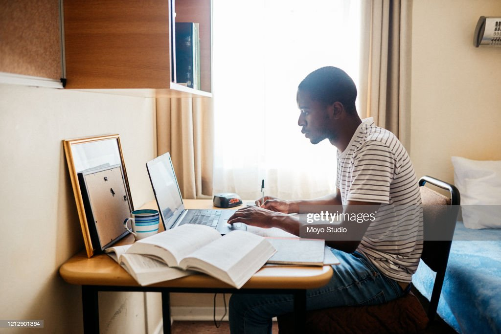 Focused on work and only work : Stock Photo