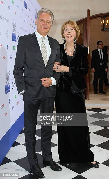 FocusMagazine editor in chief Uli Baur and Christa Maar attend the award ceremony of the 'Felix Burda Award' at the Hotel Adlon Unter den Linden on...