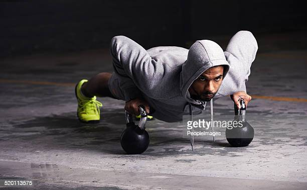 Fokussiert auf dem Training