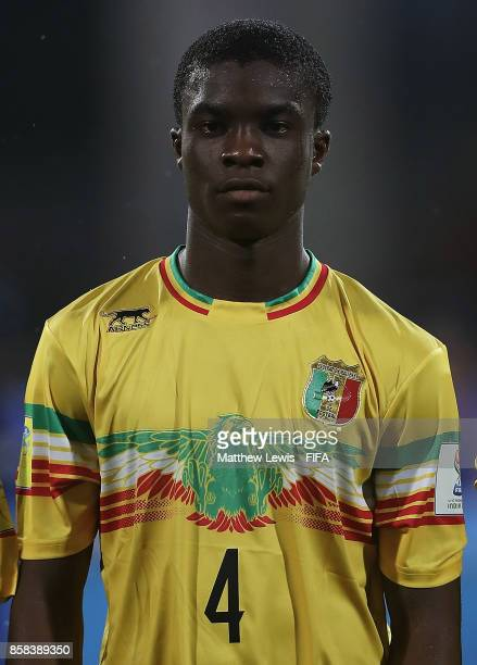 Fode Konate of Mali looks on during the FIFA U17 World Cup India 2017 group B match between Paraguay and Mali at Dr DY Patil Cricket Stadium on...