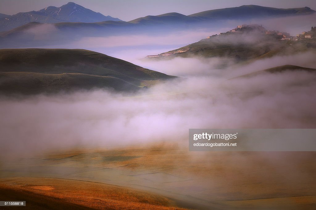 Fog and clouds : Stock Photo