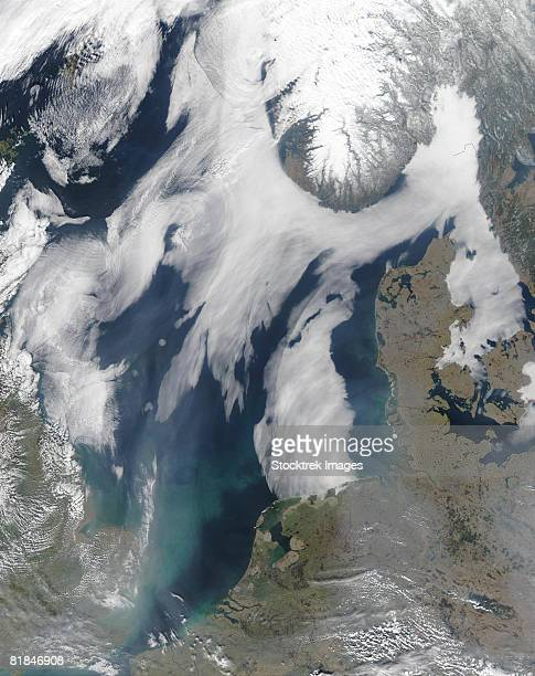 Fog in the North Sea