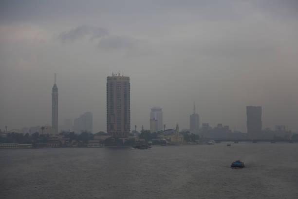 EGY: Fog In Cairo