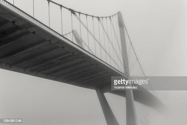 Fog on the catwalk