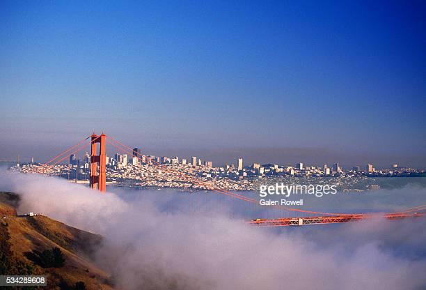 Fog Over San Francisco Bay