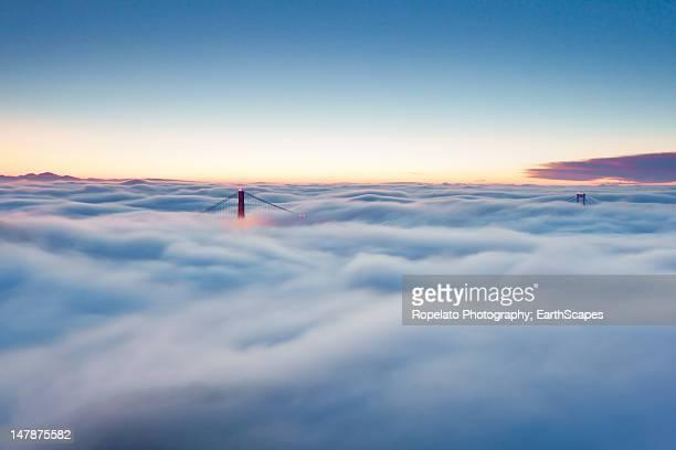 Fog over San Francisco