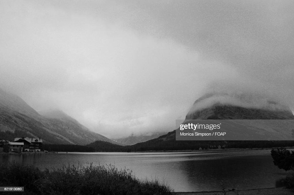 Fog over the lake : Stock Photo