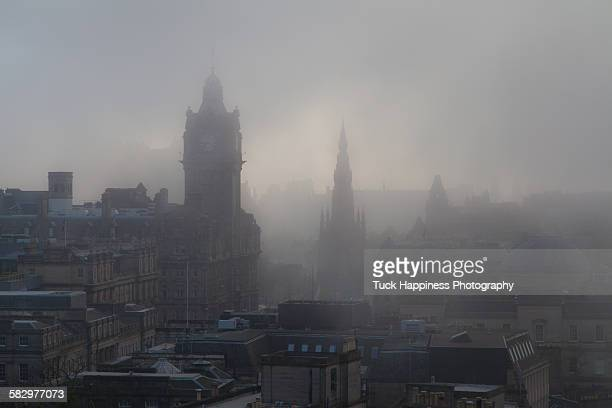 Fog Over the Rooftops