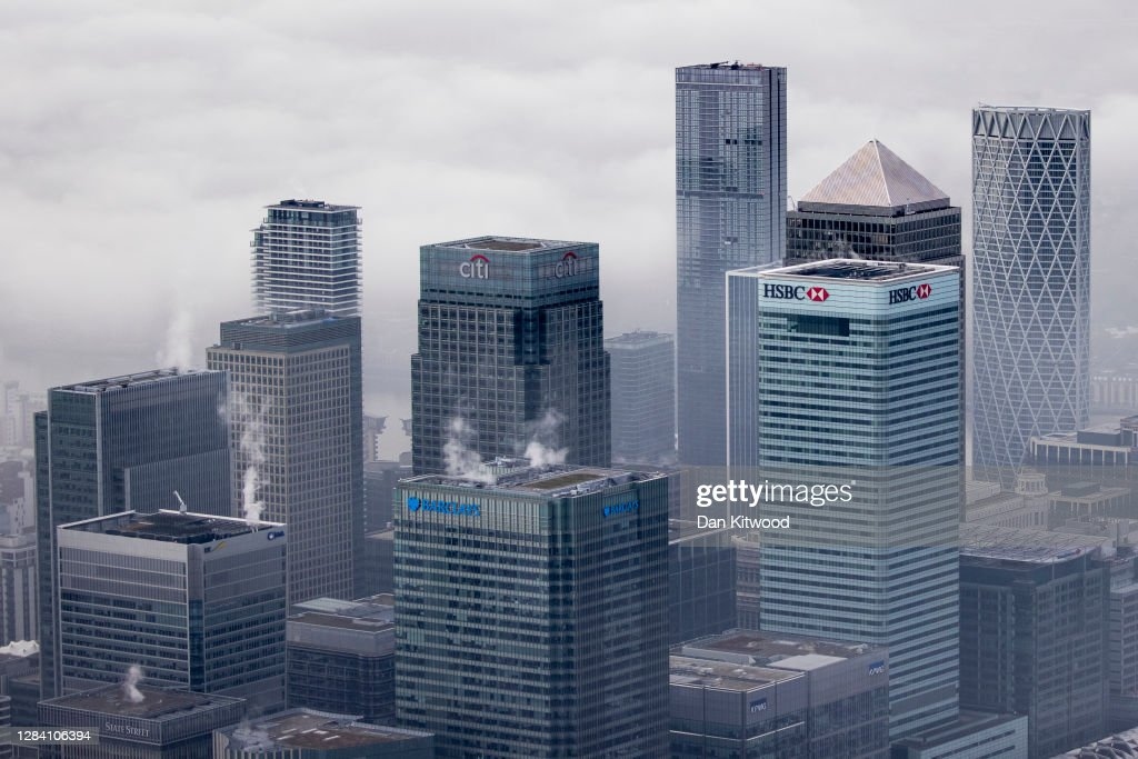 Aerial Views Of London As England Starts Second Lockdown : News Photo