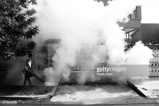 Fogging for Dengue Hemorrhagic Fever in Tangerang Dengue Hemorrhagic Fever caused by mosquitos usually become pandemic after the rainy season Health...