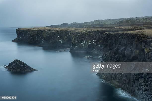 Foggy Coastline