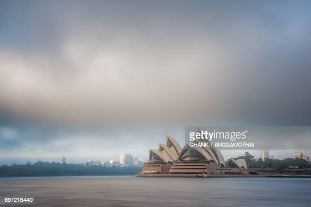 Foggy Morning at Sydney Opera House