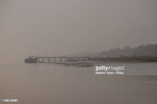 a foggy morning - khulna stock photos and pictures