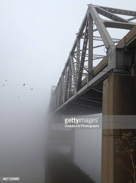 foggy morning - ペオリア ストックフォトと画像
