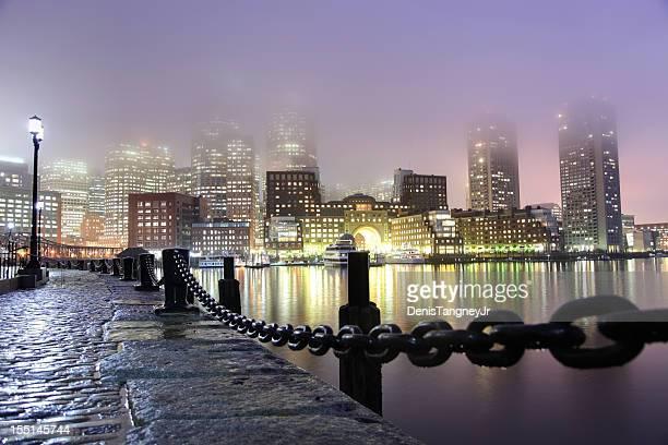Foggy Night in Boston