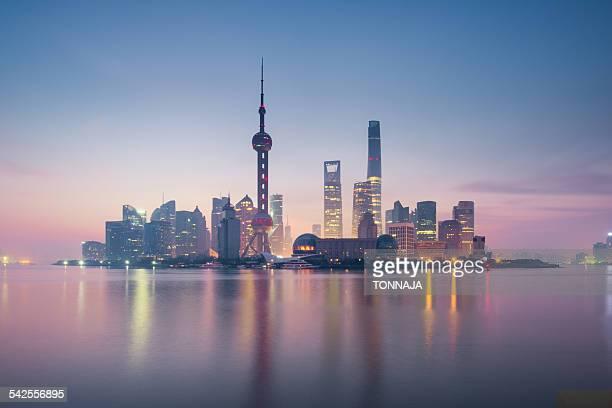 Foggy Shanghai