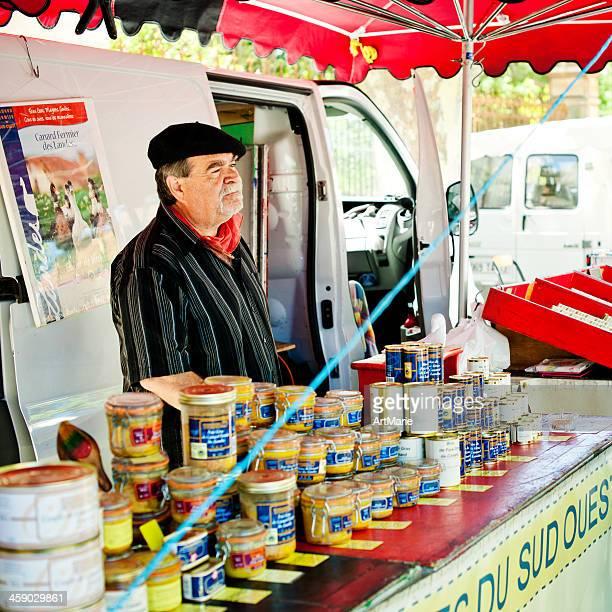 vendeur de foie gras - foie gras photos et images de collection