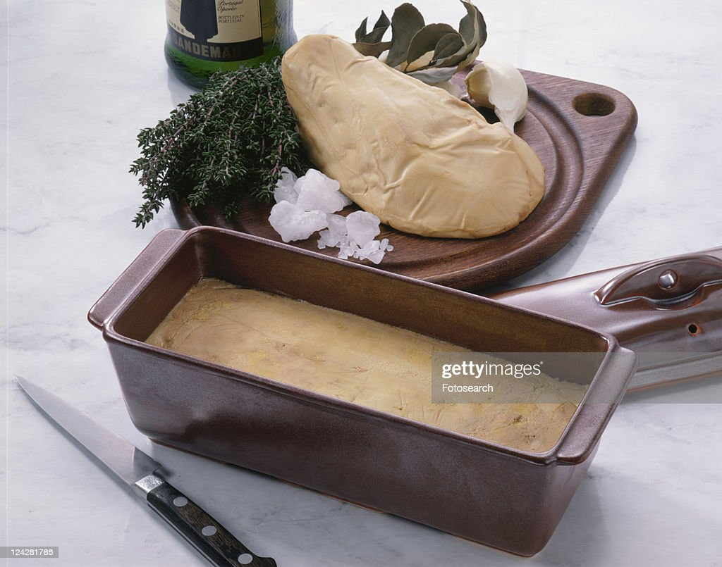 Foie Gras Terrine : Stock Photo