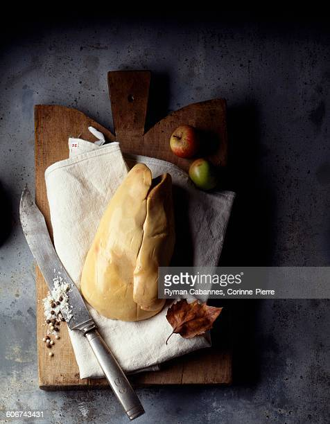 foie gras uncooked - foie gras stock photos and pictures
