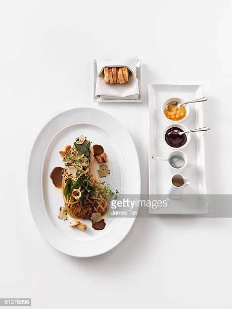 Foie Gras with condiments