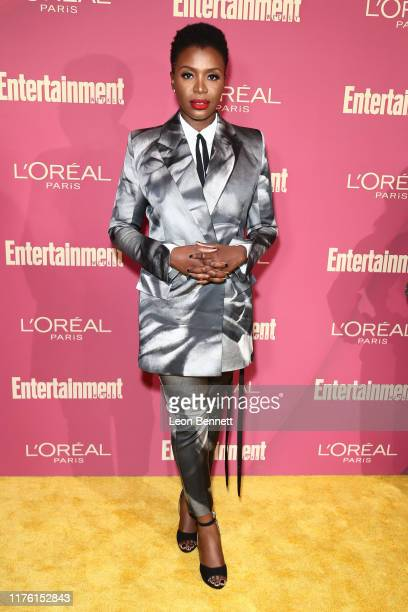 Folake Olowofoyeku attends 2019 Entertainment Weekly PreEmmy Party at Sunset Tower on September 20 2019 in Los Angeles California