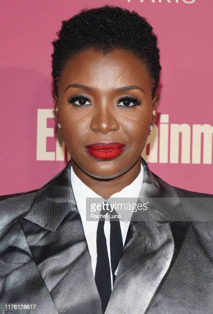 Folake Olowofoyeku attends the 2019 Entertainment Weekly PreEmmy Party at Sunset Tower on September 20 2019 in Los Angeles California