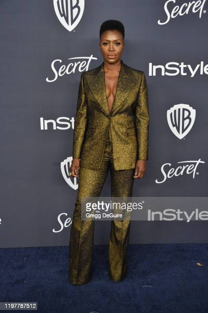 Folake Olowofoyeku attends the 21st Annual Warner Bros And InStyle Golden Globe After Party at The Beverly Hilton Hotel on January 05 2020 in Beverly...