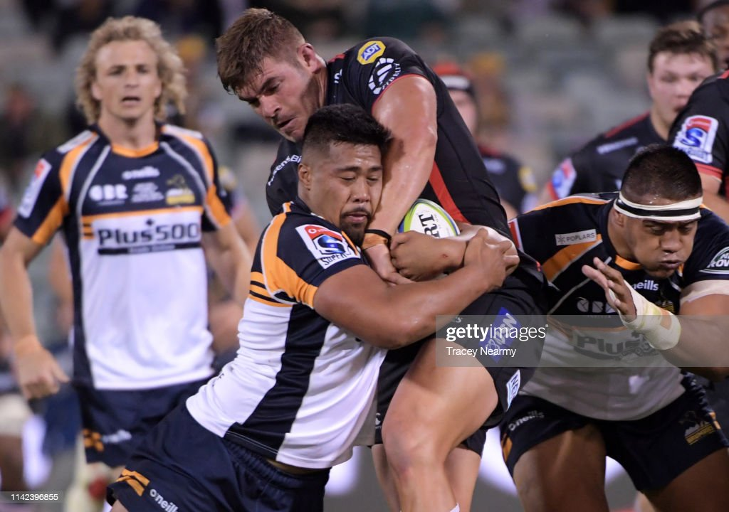 Super Rugby Rd 9 - Brumbies v Lions : News Photo