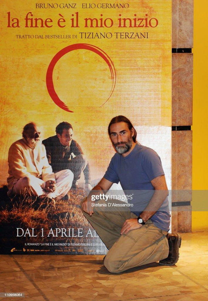 Folco Terzani attends 'La Fine E' Il Mio Inizio' Milan Photocall held at Cinema Anteo on March 28, 2011 in Milan, Italy.