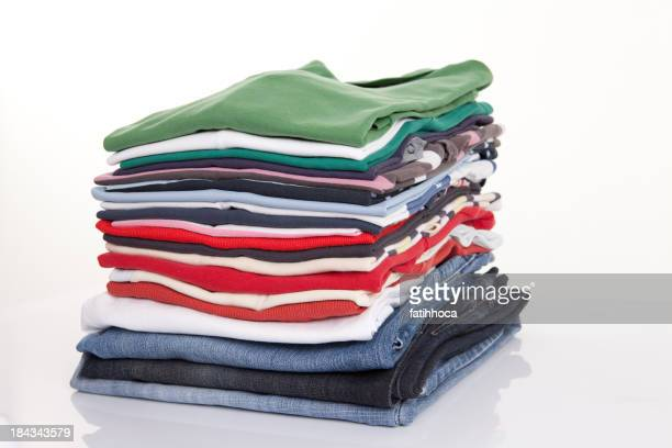 Folded Clothing