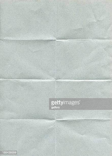 folded gray paper