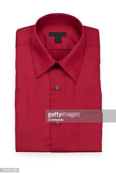 Plié homme Chemise rouge