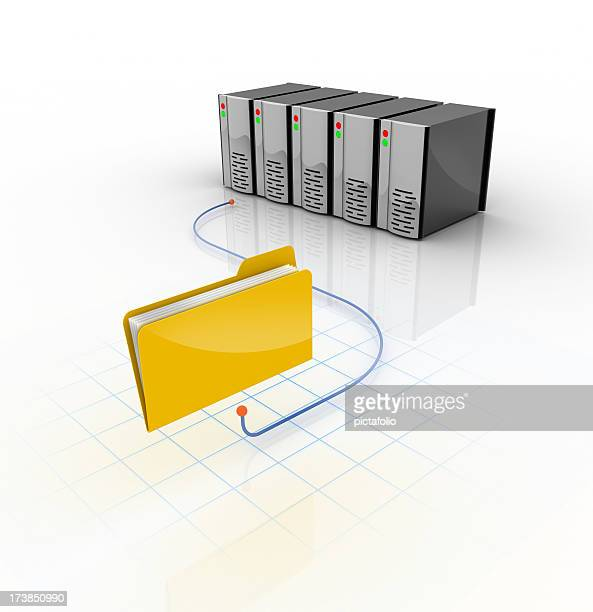 folder connected to servers