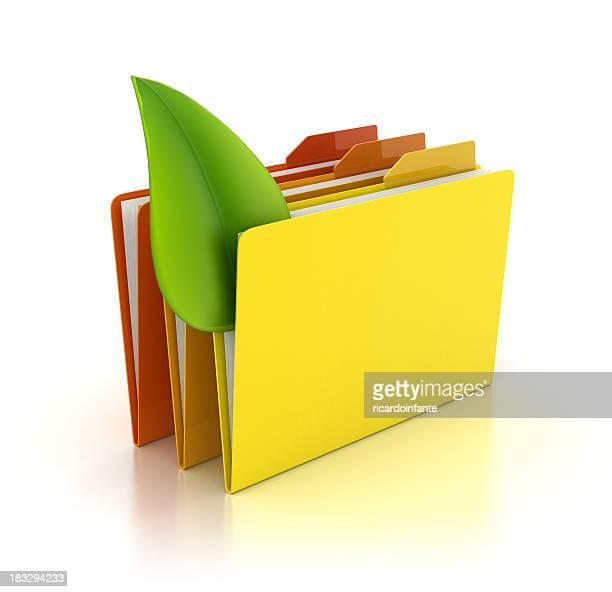 Folder - Leaf