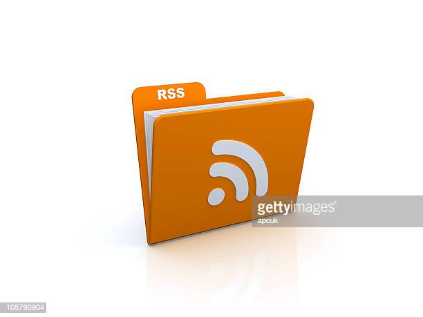 rss のフォルダです。 - シンジケーション ストックフォトと画像