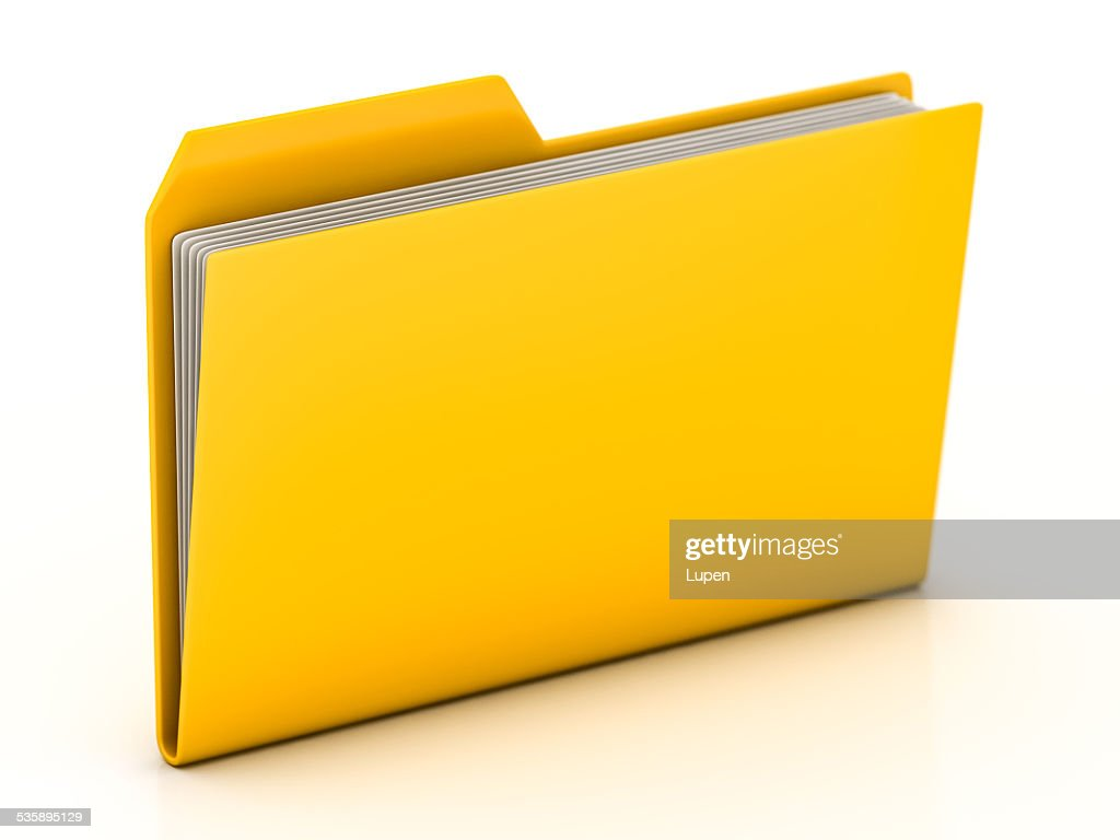 folders and files : Stock Photo
