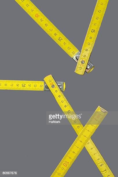 A folding ruler