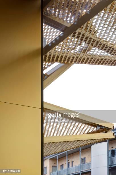 Folding shutters. Morning Lane Arches, London, United Kingdom. Architect: Adjaye Associates , 2016..