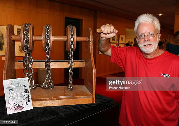 Foley Artist for Warner Bros John Roesch poses at the Academy of Motion Picture Arts and Sciences ' 'The Sound Behind The Image Now Hear This' event...