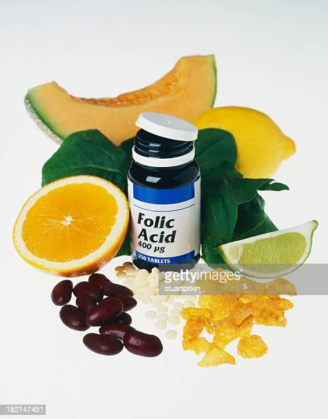 Folic acid healthy group.