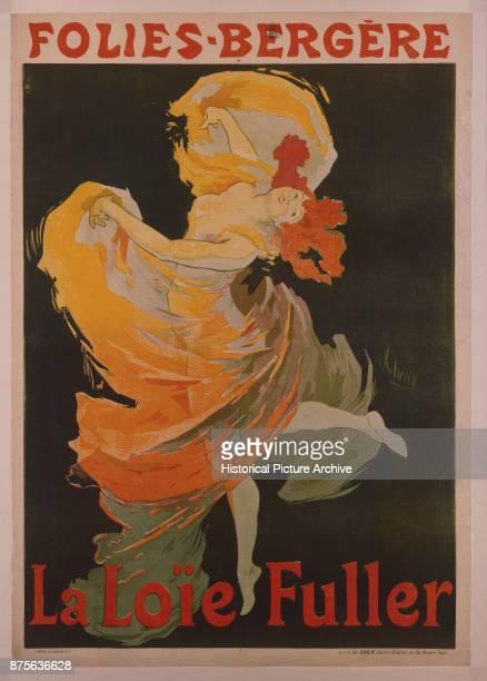 FoliesBergere La Loie Fuller Poster by Jules Cheret